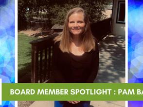Board Member Spotlight - Pam Bartlett