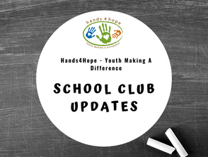 Hands4Hope School Clubs Have Gone Virtual!