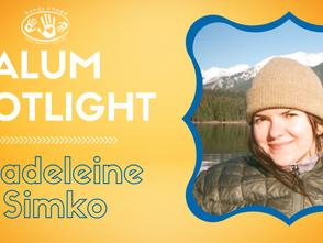 Alumni Spotlight -  Madeleine Simko