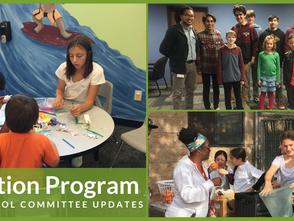 Hands4Hope Education Program After School Committee Updates  (August-December 2019)