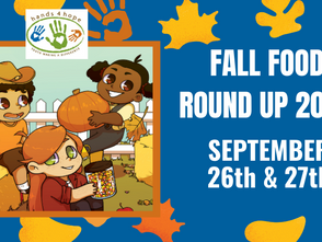 Hands4Hope Youth Convert 4th Annual Hands4Hope Fall Festival Into Fall Food Roundup to Support Strug