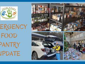 Emergency Food Pantry Update