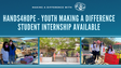Hands4Hope Student Internship Available