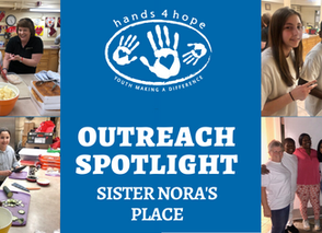 Outreach spotlight - Sister Nora's