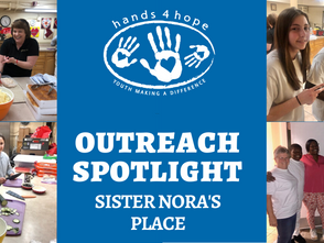Outreach spotlight - Sister Nora's