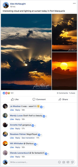 Weather obsessed page