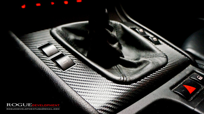 E46 BMW DRY CARBON FIBER