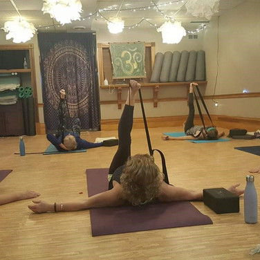 Some of the fun we have at Connected Yoga