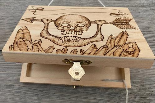 Skull and Arrow Box