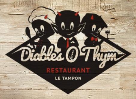 "Restaurant ""Diables ô Thym"" : déjeuner, dîner..."