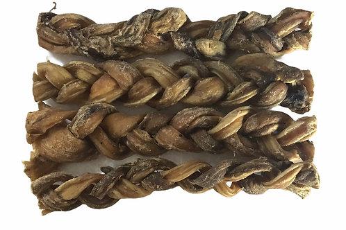 Braided Pizzle sticks X 4/5