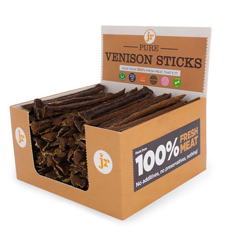 Pure venison Sticks x 4  From 4 Weeks