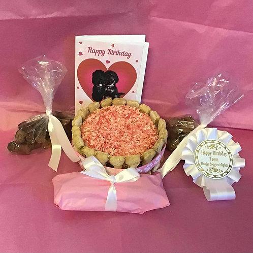 Girls Large Birthday Cake Gift Box
