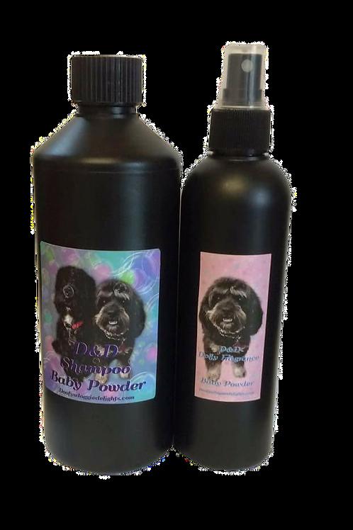 Shampoo & Grooming Spray Combo