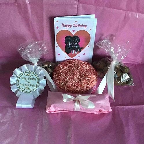 Girls Birthday Cake Box