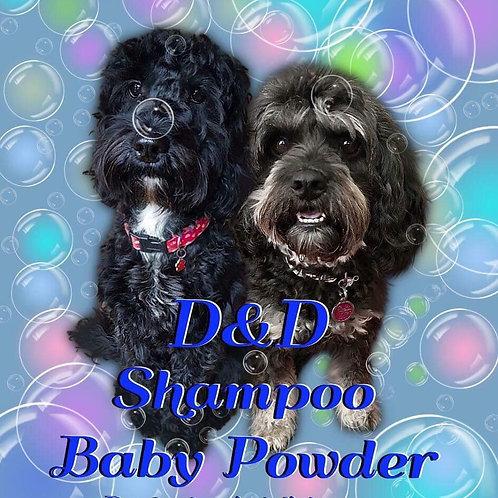 Baby Powder Shampoo and Grooming Spray Bundle - 250ml