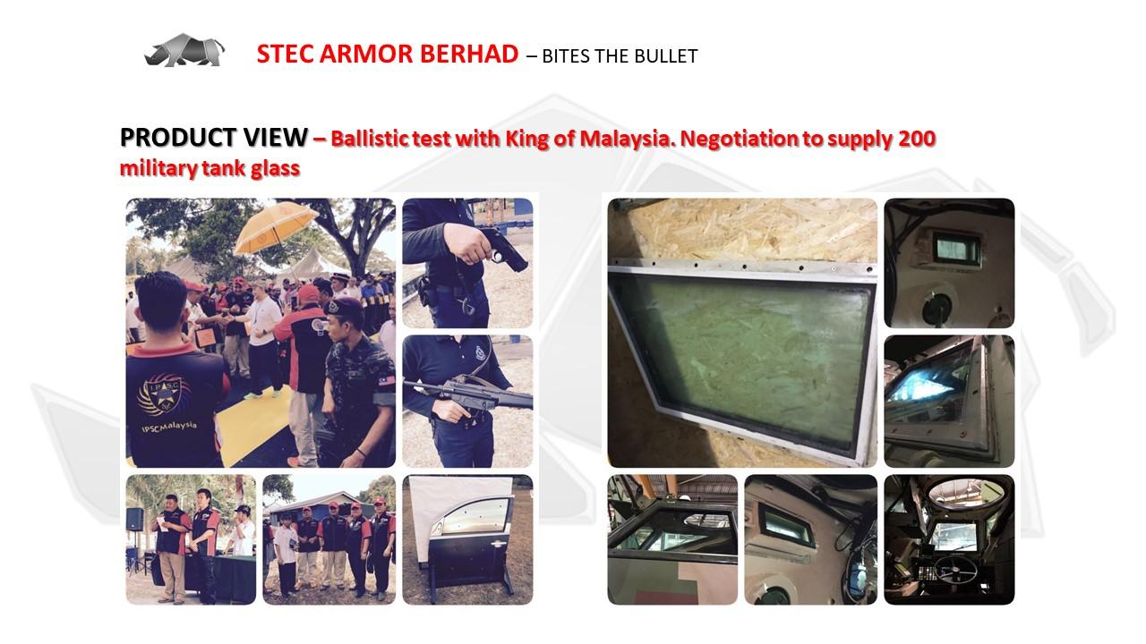 MALAYSIA STEC Armor Car Armoring