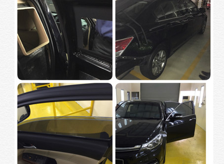 Malaysia Prime Minister car done by STEC Armor. Official supply and installed by STEC Armor.