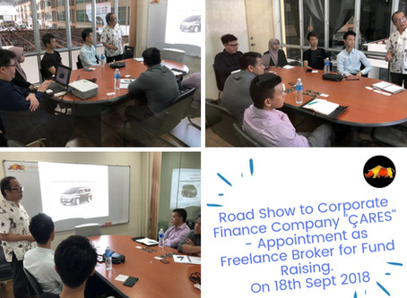 Business Expansion sharing to Corporate Finance company who will review and locate investor for STEC