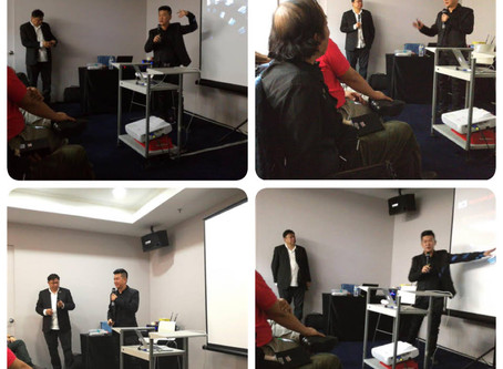 STEC ARMOR PRESENTATION TO INTERESTED INVESTOR IIN KUALA LUMPUR, MALAYSIA.
