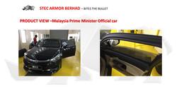 MALAYSIA BULLETPROOF CAR ARMORING