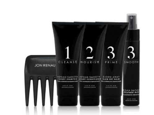 Human Hair Care System – 5pc Travel Kit