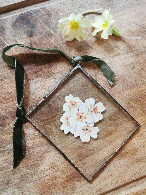 Square Birth Flower Trinket
