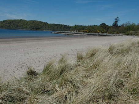 Tralee Beach, near Oban