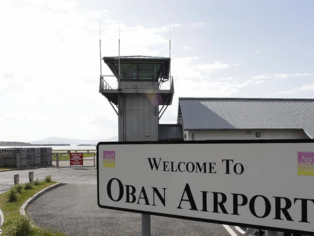 Fly to Oban, arrive in style.