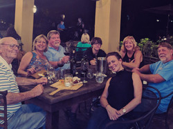 The Fisher Family At Los Pinos
