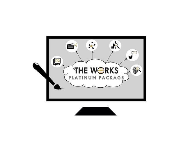 2 - The Works - Website Package Icon - S