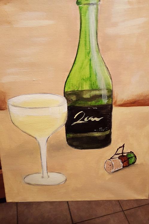 A Glass Of Vino