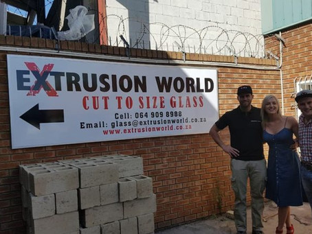 Extrusion World Cut-to-size Glass 1st Anniversary!