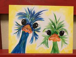 Ostrich Twins