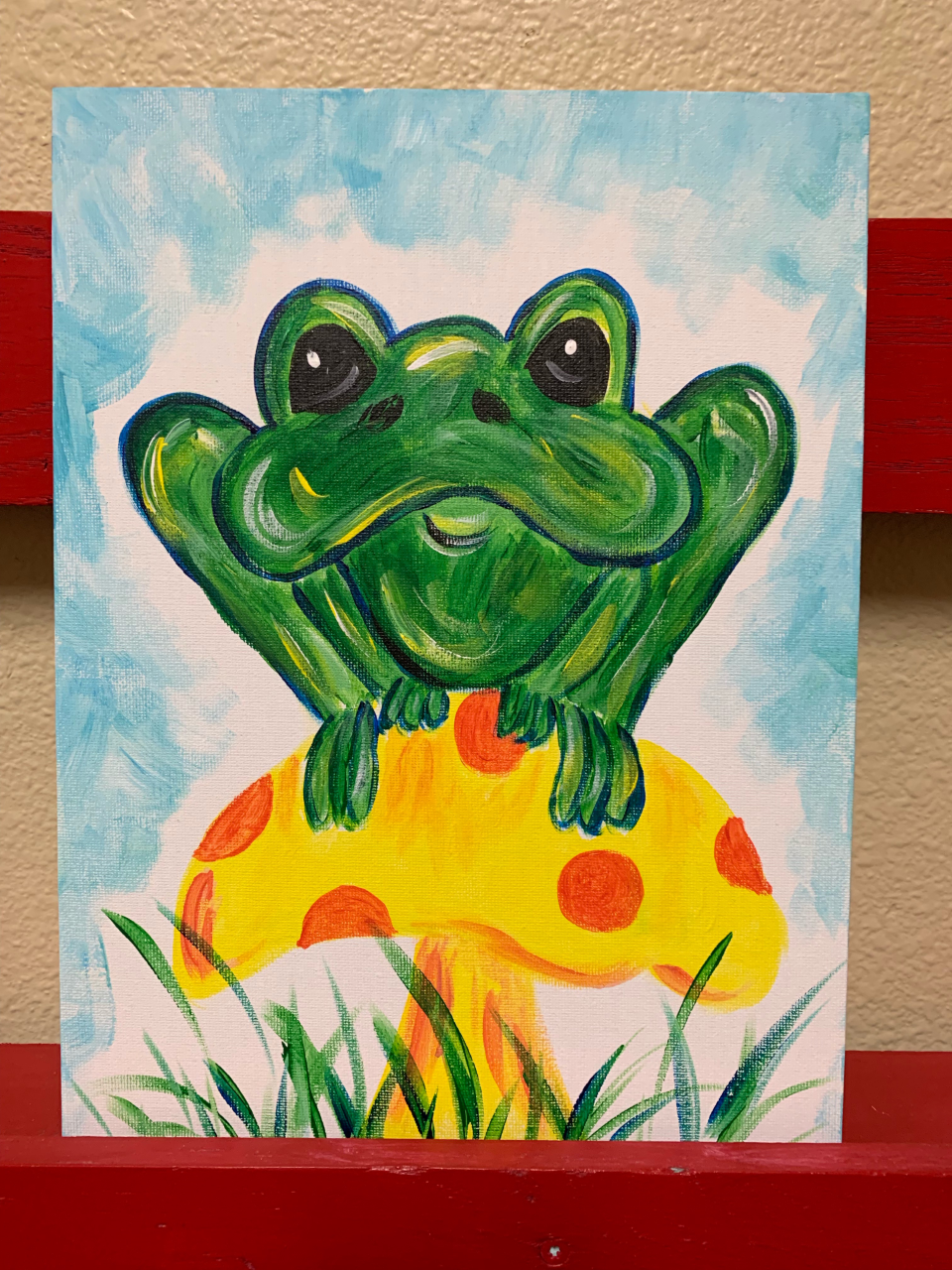 Toadstool Frog