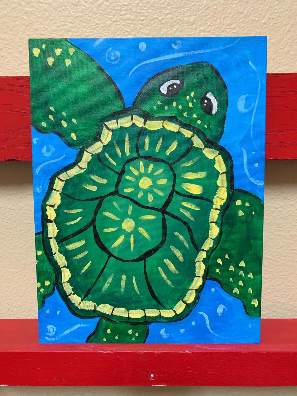Under the Sea Turtle