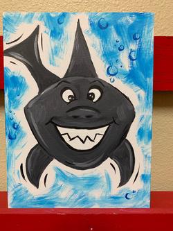 Scary Shark