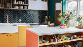10 Colorful Kitchens to Brighten Your Week