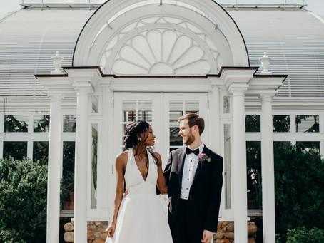 {Matthew + Chie} Intimate Winston-Salem, NC Wedding Reynolda Gardens