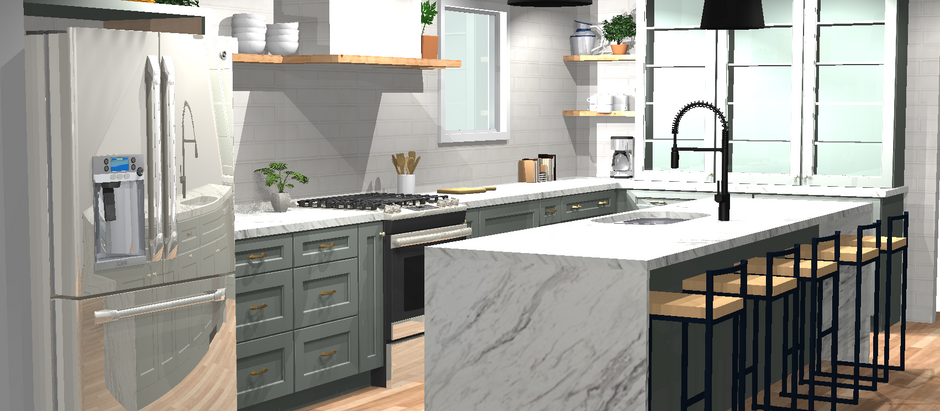 Get The Look - HGTV's Fixer Upper Old World Kitchen in Kraftmaid Cabinetry