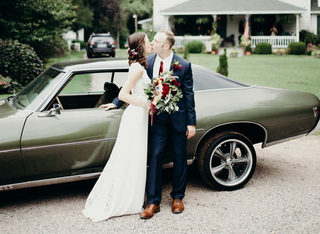 {Kyle + Abigail} Dreamy Williamsburg Wedding