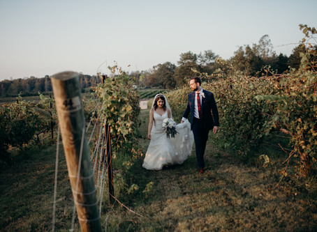 {Aysha + Dallas} Vineyard Wedding