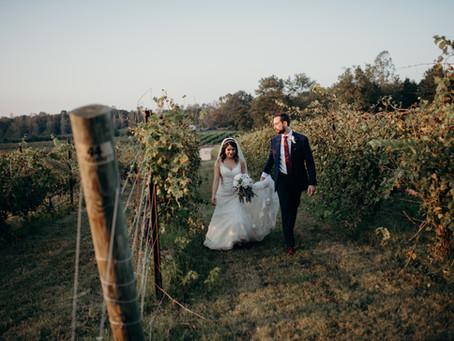 {Aysha + Dallas} Vineyard Wedding