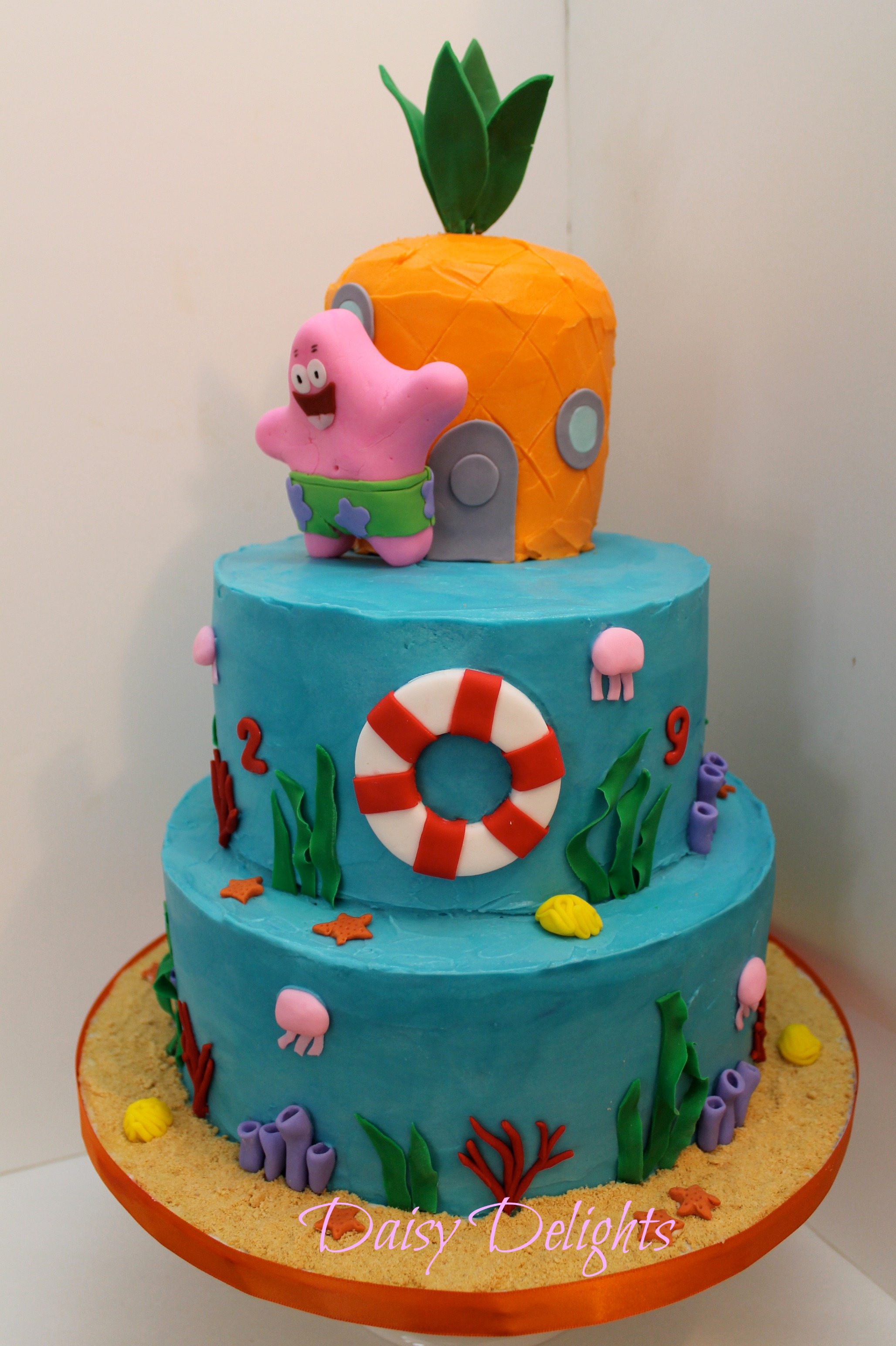 Spongebob Buttercream