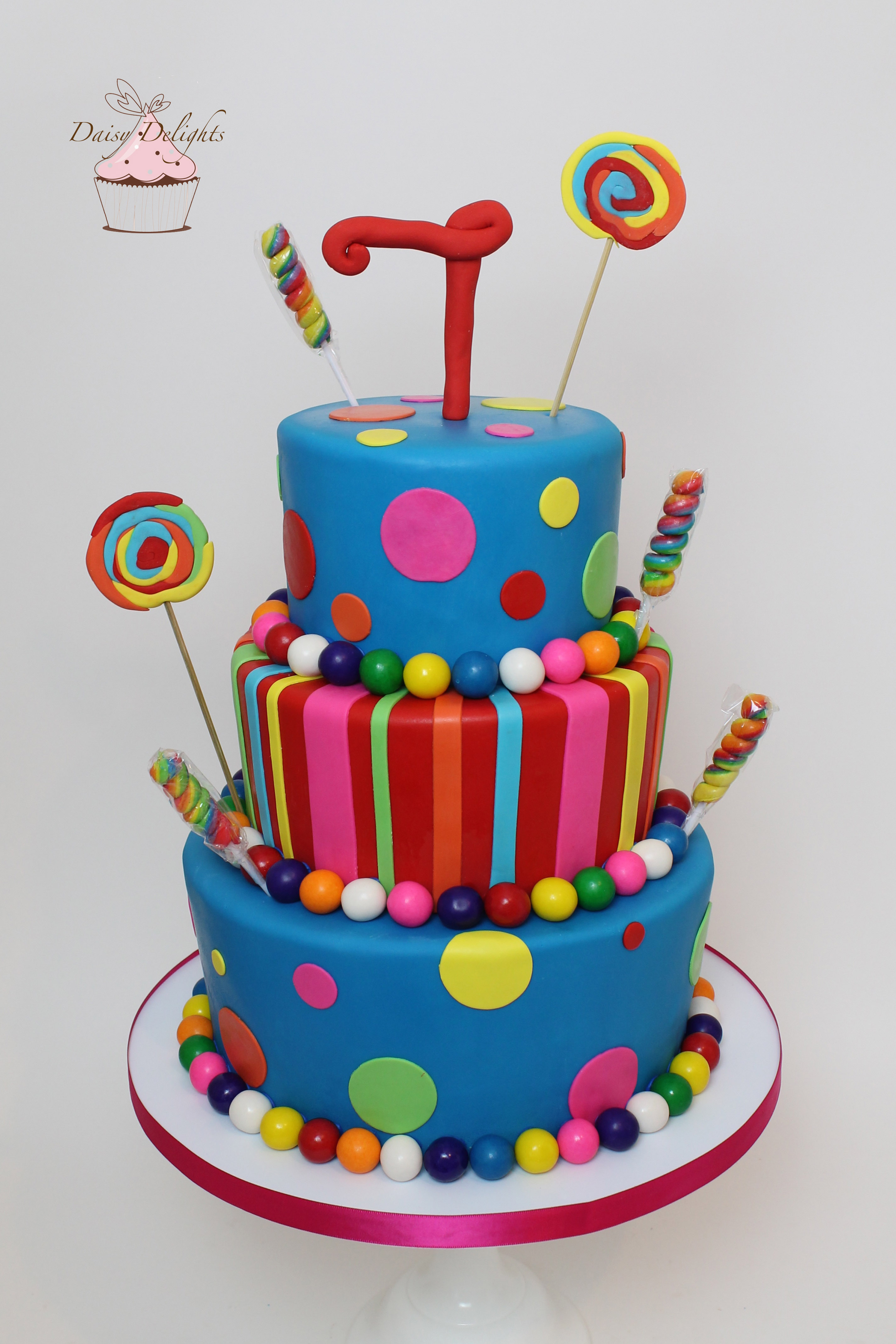 Colorful Candy Cake