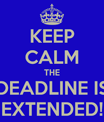 NEWSFLASH! BPAC ENTRIES CLOSING DATE EXTENDED!