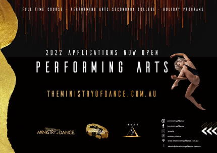 Ministry Performing Arts 1_2 Advert A5 c