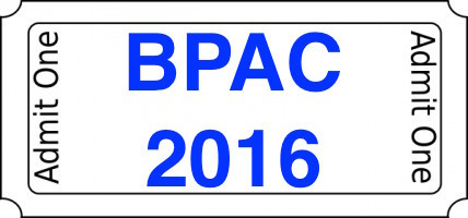 BPAC 2016 Tickets available online now!