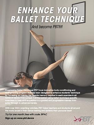 Progressing Ballet TechniqueBPAC 1_4 pag
