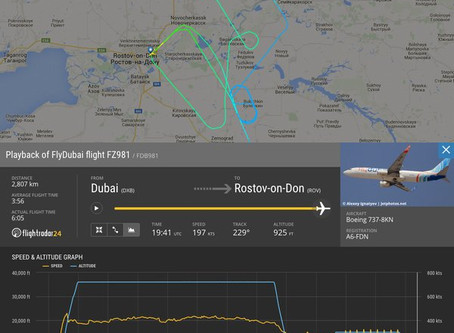 News : Flydubai plane crashes in Russia; 62 aboard reported dead